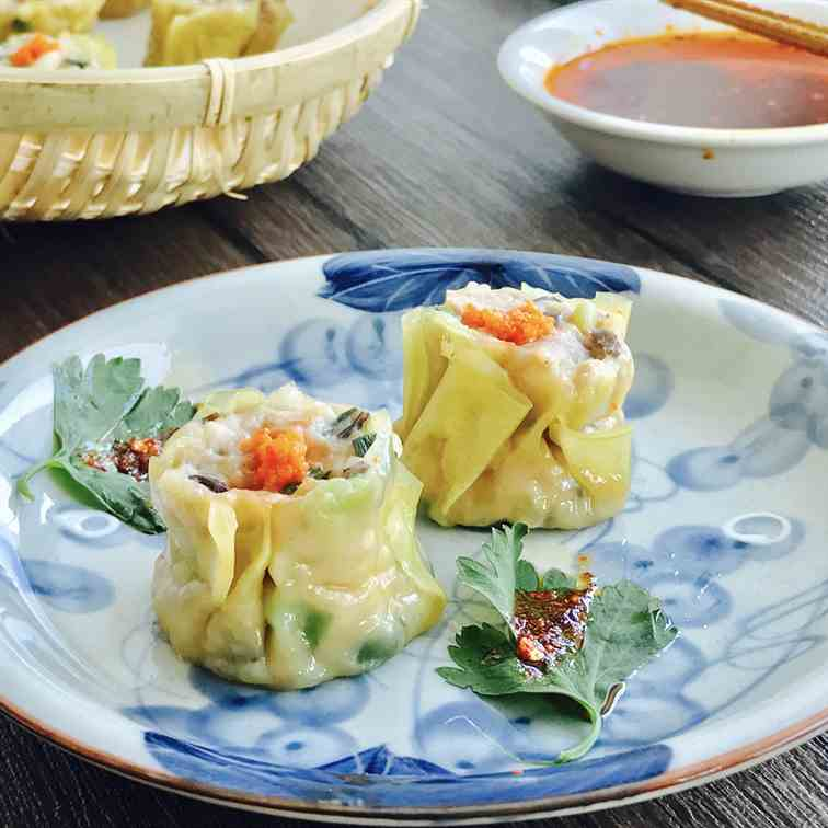 Siew Mai (Shrimp and Pork Dumpling)