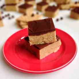 No-Bake Chocolate Peanut Butter Bars