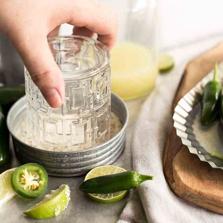 Candied Jalapeno Margarita Salt