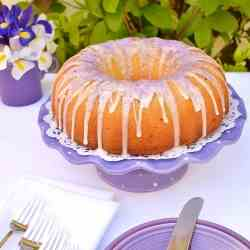 Lavender-Lemon Pound Cake