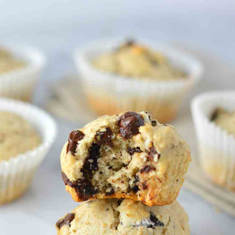 Chocolate Chip Oreo Muffins