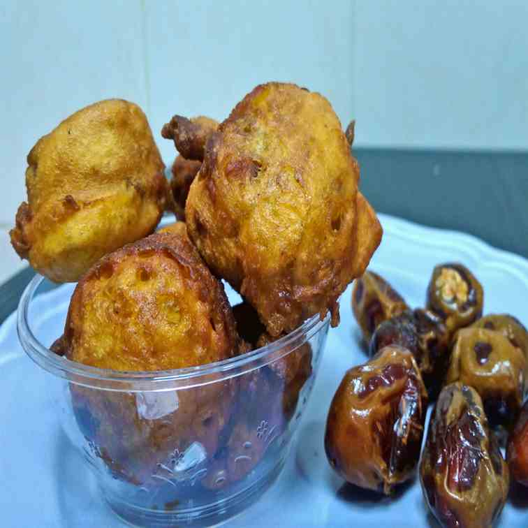Dates Fry- dates Fritters