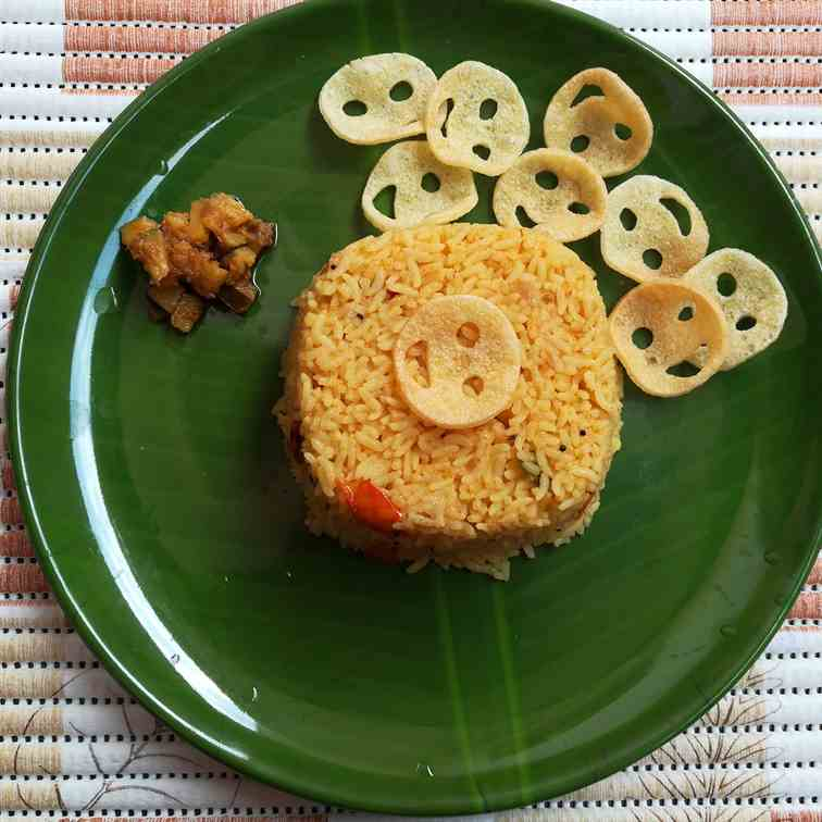 tomato rice recipe, how to prepare tomato