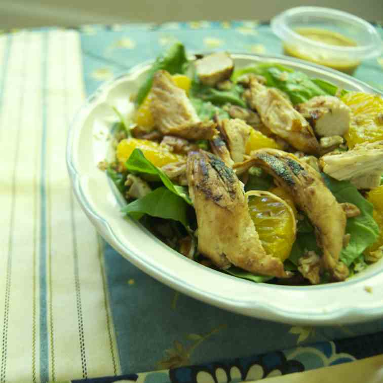 Paleo Mandarin Chicken Salad
