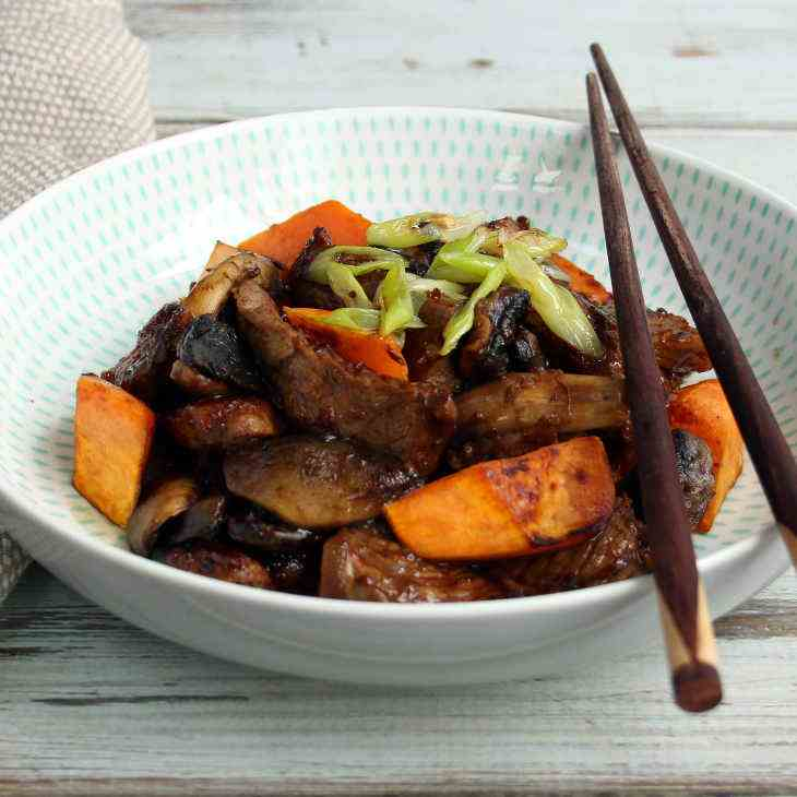 AIP Beef Teriyaki Recipe with Sweet Potato