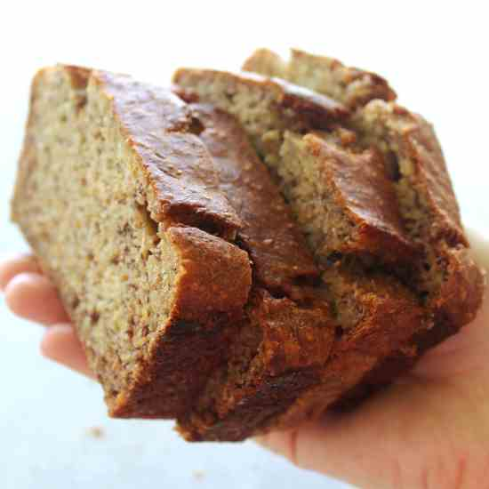 Completely Healthy Banana Bread