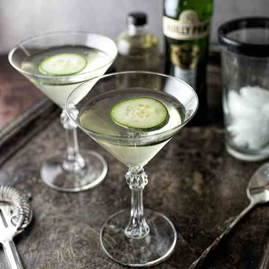 Spicy Cucumber Martini