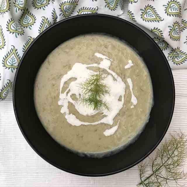 Slow-cooked Fennel Soup
