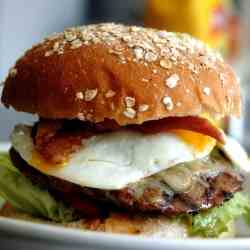 Breakfast in Bed Burger