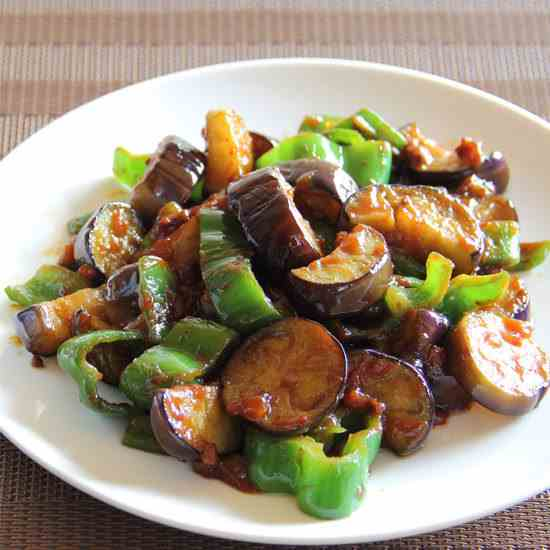 Miso Vegetable and Pork Stir Fry