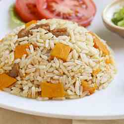 Spiced Rice and Squash