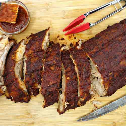 Oven-Baked Fall Off the Bone BBQ Paleo Rib