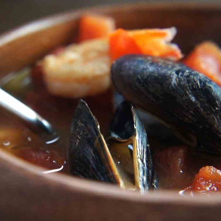 A healthy Cioppino Stew