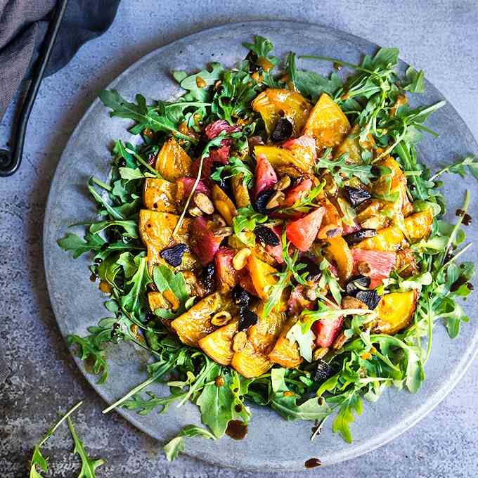 Smoky beet salad