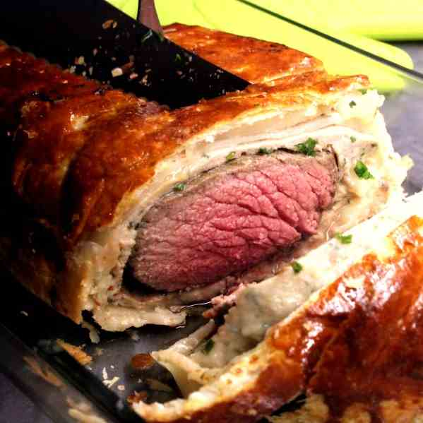 Simon's Beef Fillet in Puff Pastry