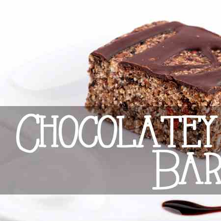 Chocolatey Coconut Bars