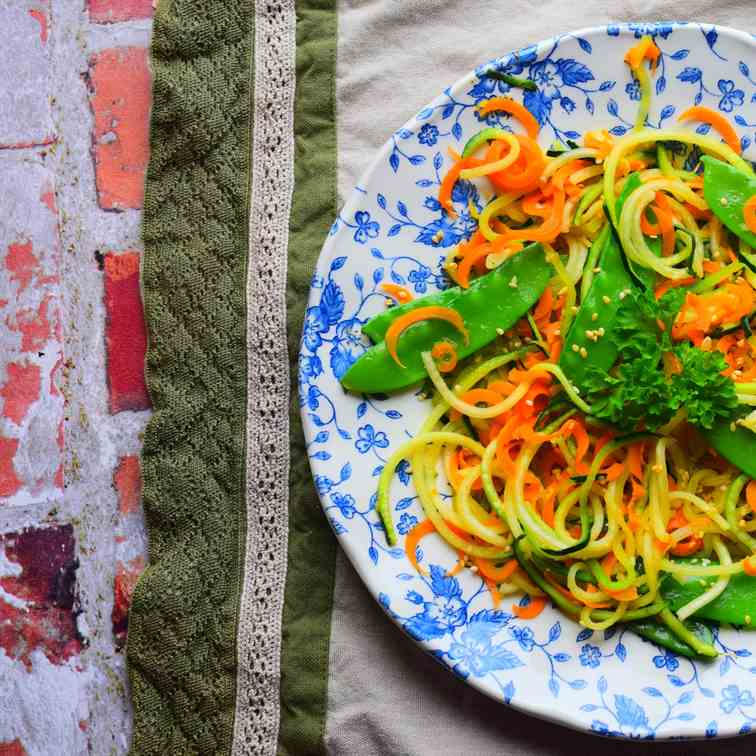 Courgette Noodle Salad