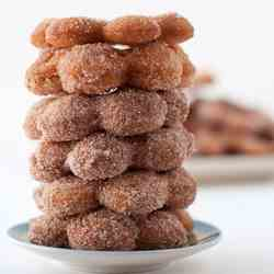 Cinnamon Sugar Cake Donuts from Scratch