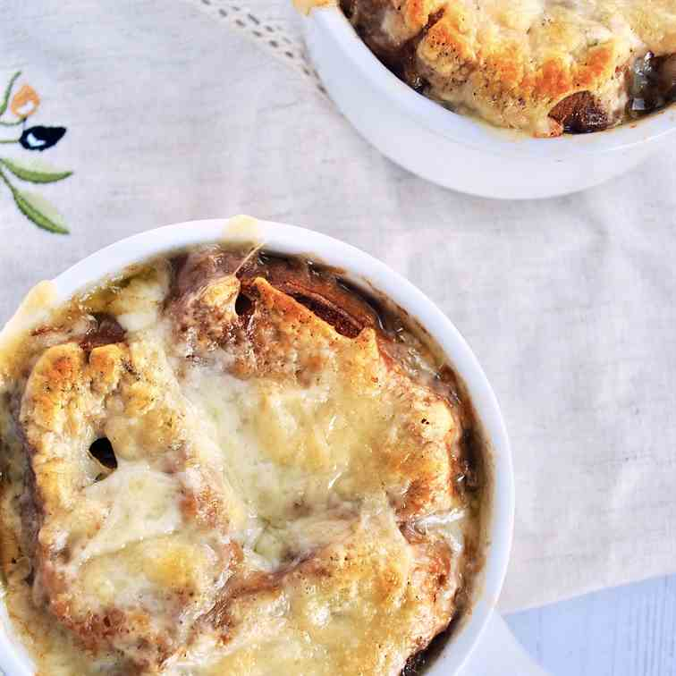 Grandma's french onion soup