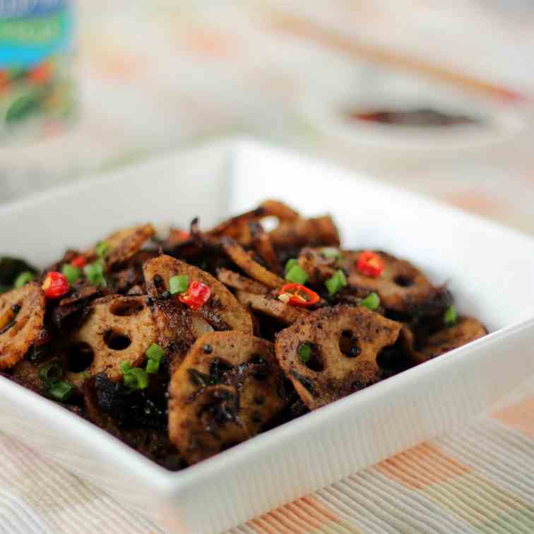 Lotus Root Stir-fry