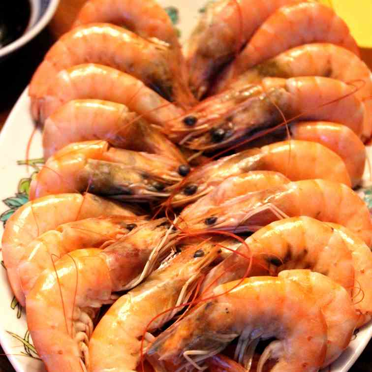 Chinese Saltwater Shrimps