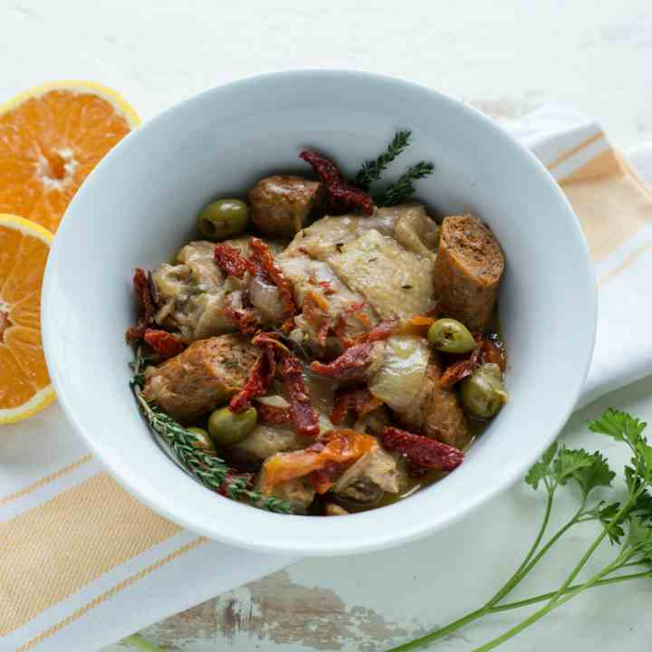 Citrus Herb Chorizo Chicken