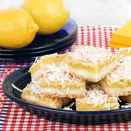 Coconut Sugar Lemon Squares