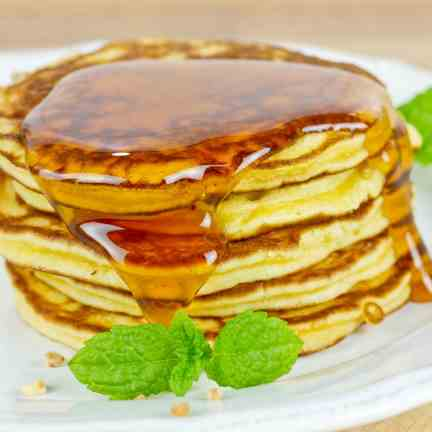 No-Guilt Pancakes with Coconut Flour