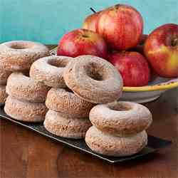 Apple Butter Maple Syrup Donuts