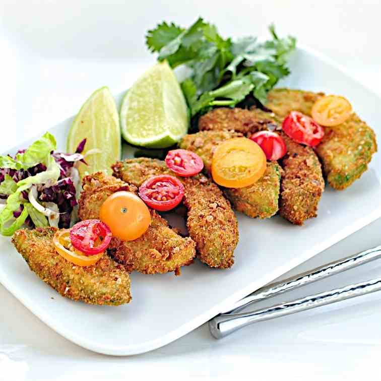 Avocado fritters