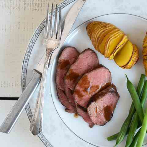 Spiced Sirloin Roast for Two