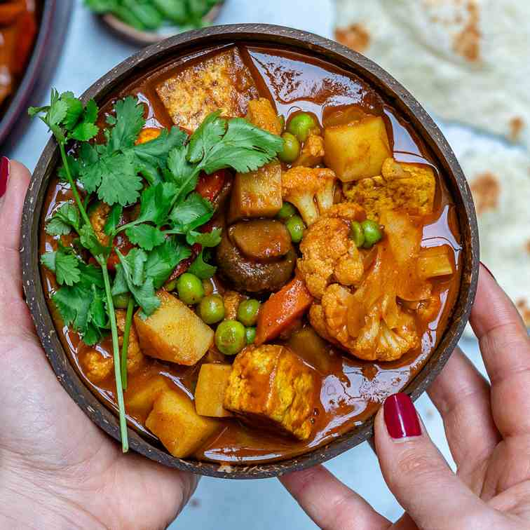 Vegan Tikka Masala With Tofu