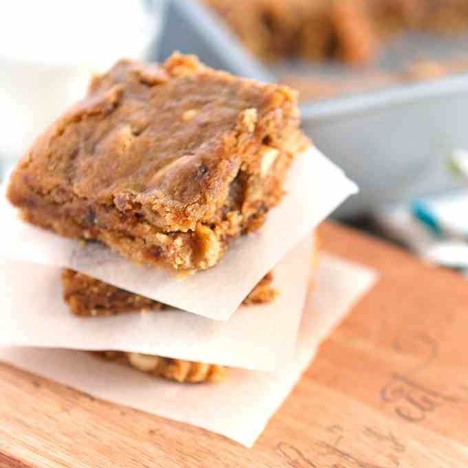 Soft - Chewy Peanut Butter Fig Bars