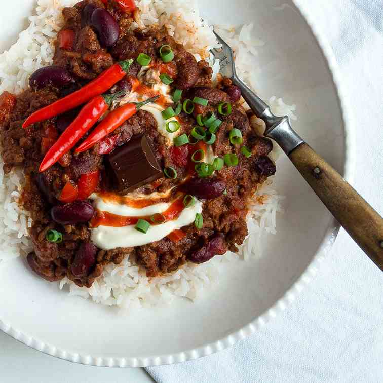 Chilli con Carne from Leftover Bolognese