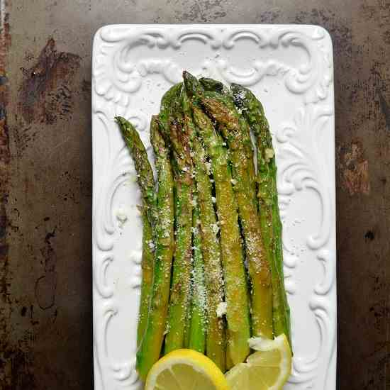 Sauteed Lemon Garlic Asparagus