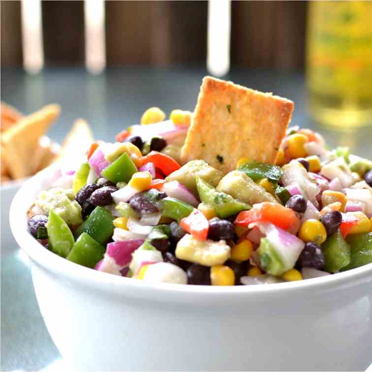 Southwest Vegetable Dip