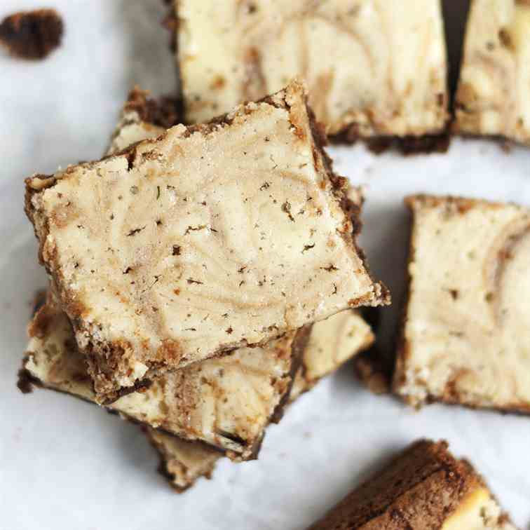 German Cream Cheese Brownies