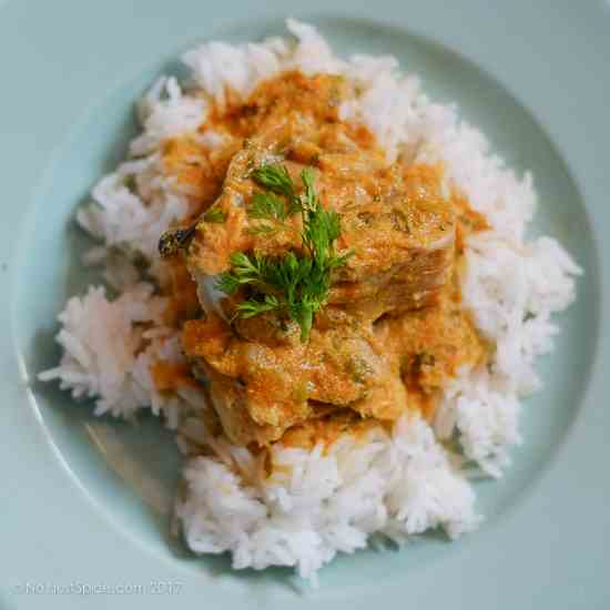 Fish Curry - Fish Gravy Tamil Style