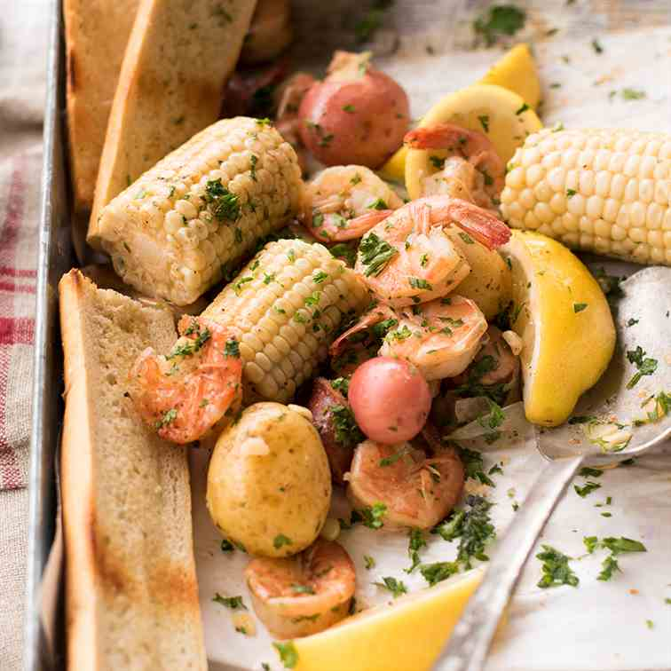Easy Weeknight Shrimp Boil
