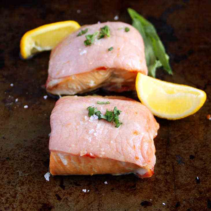 AIP Bacon-Wrapped Salmon Recipe