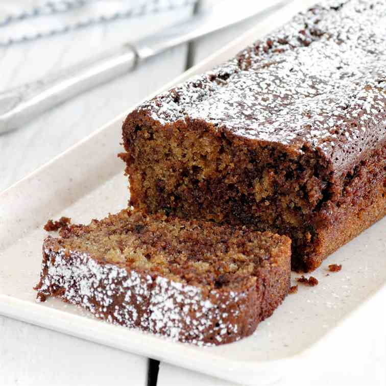Chocolate, Coconut and Coffee Cake