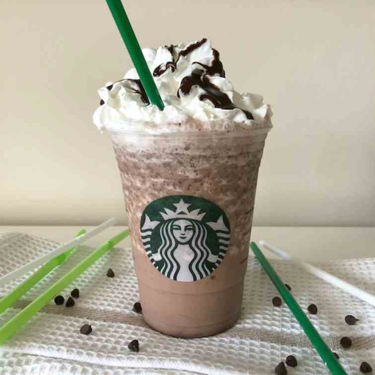 Copycat Double Chocolate Chip Frappuccino