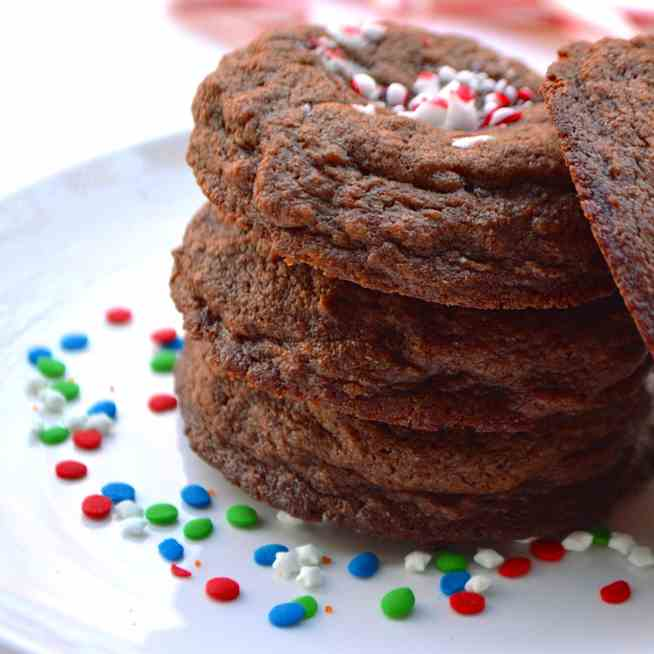 Peppermint Pattie Cookies