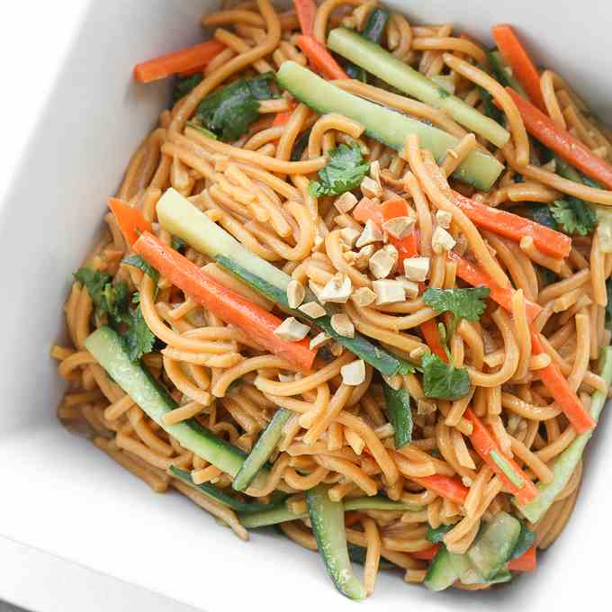 Asian Cold Noodle Salad