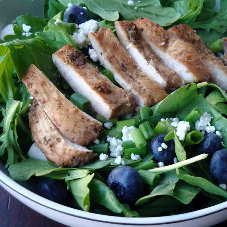 Balsamic Blueberry Salad