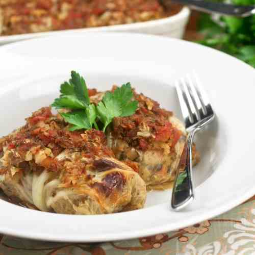 Vegetarian Cabbage Rolls