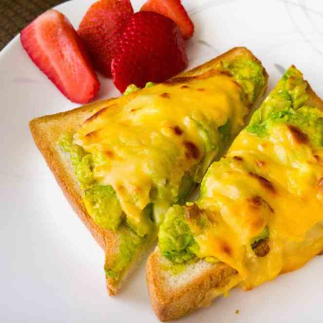 Grilled Cheese Avocado Toast