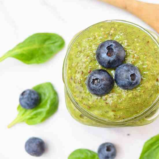 Spinach Chia Pudding