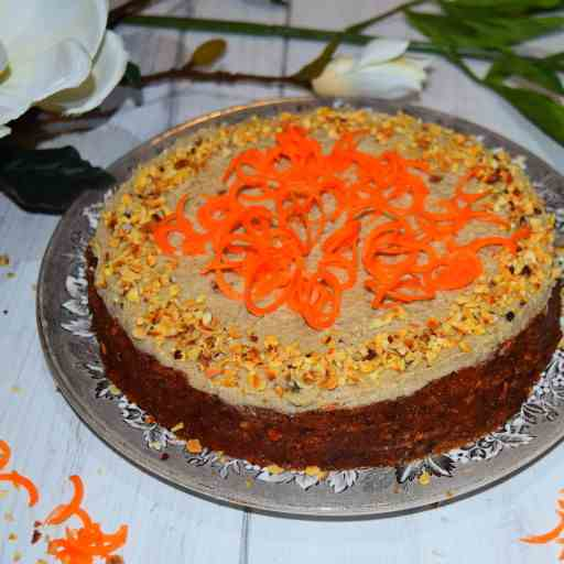Healthy Raw Carrot Cake