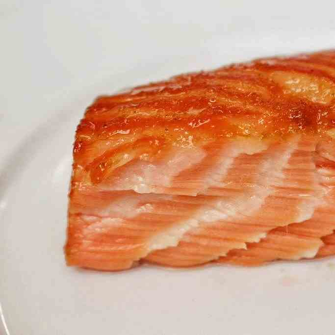 Cherry Wood Smoked Sockeye Salmon